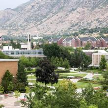 Birdseye View of BYU Campus